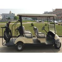 Wholesale Golden Eco Friendly 4 Passenger Electrical Golf Carts With 2 Years Warranty from china suppliers