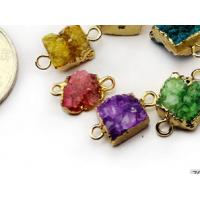 Wholesale Multicolor Drusy Agate Stone Druzy Pendant Natural Agate Stone For Jewelry from china suppliers