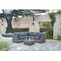 Buy cheap Modern Aluminium Patio Furniture Sets / Outdoor Patio Conversation Sets from wholesalers