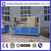 Quality Agricultural Plastic Pipe Extrusion Line , Constructional drainage pvc pipe extruder machine for sale