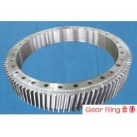 Wholesale Custom Gear Ring Flange Alloy Steel Forging Spur For Wind Turbine from china suppliers
