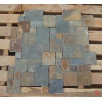 Wholesale Rusty Split Face Slate Flagstone Patio Natural Slate Paving Stone Flagstone Walkway Pavers from china suppliers