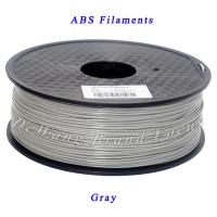 Wholesale Gray PLA  Or ABS 3D Printer Filament 1.75mm / 3mm 1kg Consumables Plastic Material from china suppliers