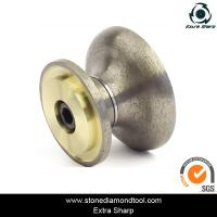 Wholesale Sintered Blazed Diamond Stone Edging CNC Profile Wheel Portable Router Bits from china suppliers