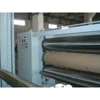 Wholesale Professional 5.5 M Fabric Three Roll Calender Machine , Nonwoven Fabric Making Machine from china suppliers