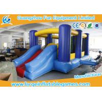 Wholesale Small Inflatable Bounce House With Slide / Childrens Bouncy Castle from china suppliers