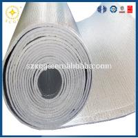 Buy cheap Hot sale heat insulation material Flexible Embossed aluminum foil backed xpe foam Insulation from wholesalers