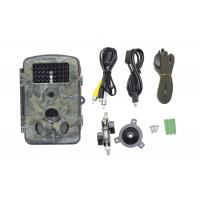 Quality Camouflage Hunting Trail Camera With Full Automatic IR Filter , Three PIR for sale