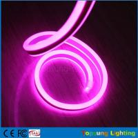 Wholesale best selling 12V double side pink led neon flexible light from china suppliers