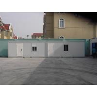 Wholesale Environmental Steel Door Mobile Office Containers Movable Steel Structure Building from china suppliers