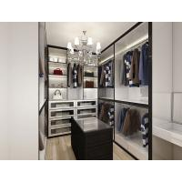 Wholesale Simple design wooden walk-in closet for bedroom living room cheap folding cupboard wardrobe from china suppliers