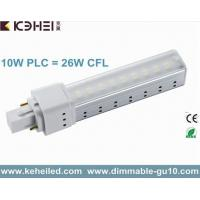 Wholesale 10W G24 LED PL tube Light 2 pins and 4 pins replace 26W CFLs with 140° Beam Spread from china suppliers