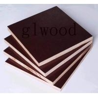 Wholesale Hardwood Film faced Shuttering plywood panels board concrete from china suppliers