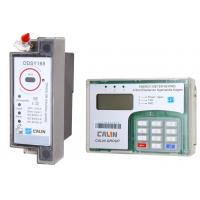 Wholesale Split Type STS Prepaid Meters , Din Rail Power Meter With Ciu Pole Mounting from china suppliers