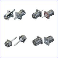 Buy cheap High quality straight  flange rf coaxial 7/16 DIN connectors with cable from wholesalers