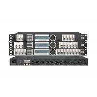 Wholesale High End Audio Video Processor , PA Processor 4 ins 8 out Dsp Dj Speaker Management from china suppliers