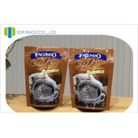 Wholesale Smell Proof Laminated Coffee Packing Bags , Safety Ziplock Storage Bags from china suppliers