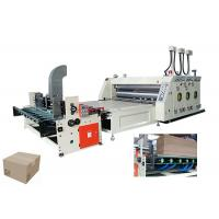 Buy cheap Cardboard Flexo Printing Slotting Machine With Automatic Counting 65 Sheets/Min from wholesalers