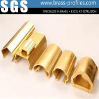 Wholesale Extruded Copper Handrail profiles Brass Stair Armrest Frames from china suppliers