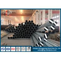 Wholesale Minimum Yield Strength 345 MPA Steel Conical Steel Utility Poles 25m Electrical Power Pole from china suppliers