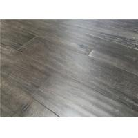 Wholesale Gray Distressed Laminate Flooring with Distressed Surface Glueless Unilin Click from china suppliers