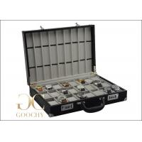 Buy cheap 24 Watches Carrying Leather Watch Storage Box 443 x 309 x 98 mm Size 3 kg Weight from wholesalers