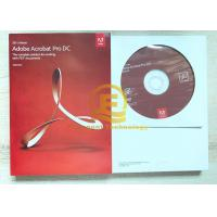 Wholesale 32/64- Bit Adobe Graphic Design Software Original DVD With Retail Box from china suppliers