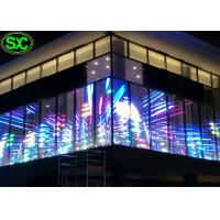 Wholesale Outdoor Full Color Transparent LED Screen SMD 3in1 P6.25 Seamless from china suppliers