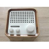 Wholesale V4.0 EDR Wireless Wooden Bluetooth Speaker 1200mah Battery DC 5V 5W from china suppliers
