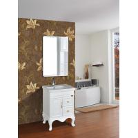Wholesale Cabinet Antique Classical Bathroom Furniture Single Vanity With Legs from china suppliers