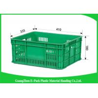 Wholesale Mesh Plastic Food Crates Moving Storage Environmental Protection For Supermarkets from china suppliers