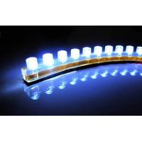 Wholesale 12V 240mm 24cm Flexible Car Strip Grill Light Bulb headlight 24 LED WHITE from china suppliers