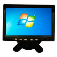 Wholesale Black Color Plastic Case 7 Inch Resistive Touch Screen LCD Monitor For Industrial from china suppliers