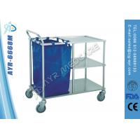 Wholesale Three Shelves Medical Sheet Cart / Hospital Laundry Trolley with 4 Castors from china suppliers
