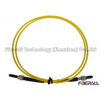 Wholesale SM 9/125 Simplex Fiber Optic SMA To SMA Patch Cord With Stainless Steel Ferrule from china suppliers