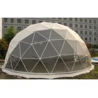 Quality Rustproof Windproof Geodesic Steel Large Dome Tent For Events for sale