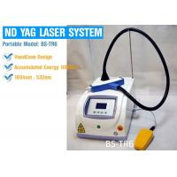 Wholesale Double Wavelength 1064 nm 532 nm ND YAG Laser Machine For Age Pigment & Birthmark Removal from china suppliers