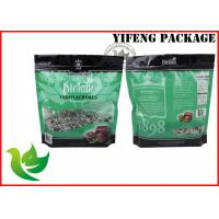 Wholesale Plastic Food Grade Chocolate Packaging Bags , Custom Printed Stand Up Pouch With Zipper from china suppliers