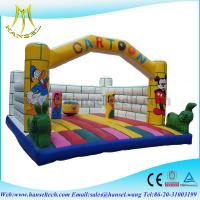 Wholesale Hansel popular funny commercial indoor inflatable playground equipment from china suppliers