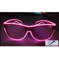Wholesale Party Show Flash Light Glasses 0.75mm Lens With PC Plastic Frame from china suppliers