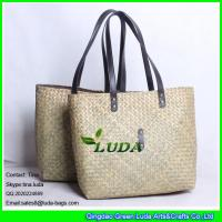 Wholesale LUDA 2016 new style special palm straw bag from china suppliers