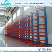 Quality Optional Color Heavy Duty Cantilever Racking Timber Furniture Pipe Tubes Stock for sale