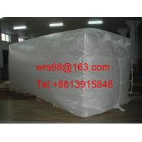 Wholesale White Bulk Containers Liner Bag PP Woven Fabric for 20 ft / 40 ft / 40HQ from china suppliers