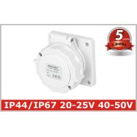 Wholesale IP67 Low Voltage Industrial Power Socket with 2 Pole , 5 Years Warranty from china suppliers