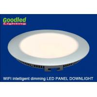 Wholesale Remote Control Dimmable Round LED Panel Downlight 13W 850LM With Natural White from china suppliers