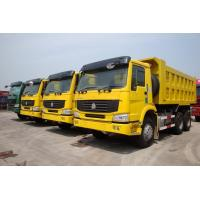Wholesale Ten Wheel Tipper Heavy Duty Dump Truck 3 Axle Bottom Thickness 8mm Or 12mm from china suppliers