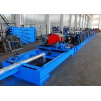 Wholesale Self Seamed Step Rack Roll Forming Machine With Flying Saw Cutoff from china suppliers