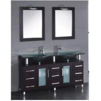 Wholesale Classical Double Sinks Wooden Bathroom Vanity (BL-S8122) from china suppliers