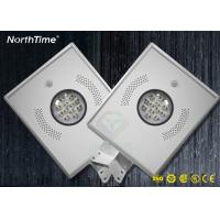 Wholesale IP65 Integrated Outdoor 12W All In One Solar Led Street Light for Garden from china suppliers
