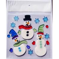 Wholesale Christmas window stickers, different style can be choose from china suppliers